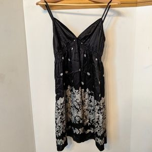 Express silk slip dress, size M